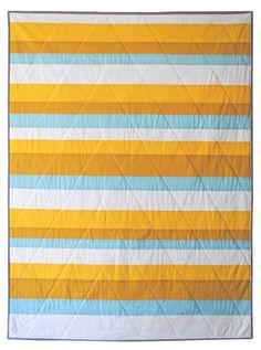 modern quilt - stripes