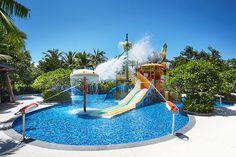 Let Your Kids Have Fun in a Kid-friendly Hotel! (Part 8-2) Kid's Pool at Grand Hyatt Sanya Haitang Bay #Sanya #Whererefreshingbegins #GrandHyatt #HaitangBay #SanyaRepin #SanyaHeartstoHearts