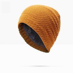Brand NUZADA Winter Autumn Keep Warm Men Women Unisex Skullies Beanies  Thickening Hedging Cap Knit Knitting Caps Bonnet Hat fa17352d1271