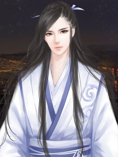 Handsome Anime, Handsome Boys, Anime Art Girl, Anime Guys, Male Cartoon Characters, M Beauty, Chinese Drawings, Handsome Prince, Chinese Man