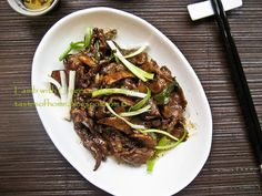 Lamb with Ginger and Scallions Stir-fry Recipe