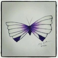 100 Butterflies in 100 Days, Day 49, Medium: Color Pencil