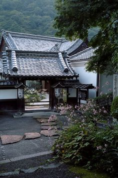 Need Japanese Garden Ideas? A lot of people have taken an interest in Japanese gardening, in recent times. Japanese Garden Landscape, Japanese Garden Design, Japanese House, Japanese Mansion, Architecture Du Japon, Asian Architecture, Pavilion Architecture, Sustainable Architecture, Residential Architecture
