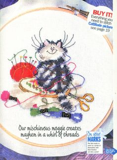 Margaret Sherry The Crafty Cat