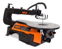 wen 3920 16 inch two direction variable speed scroll saw with flexible led light for sale Woodworking Power Tools, Woodworking Planes, Woodworking Wood, Woodworking Patterns, Woodworking Organization, Woodworking Inspiration, Woodworking Projects, Scroll Saw Blades, Shopping