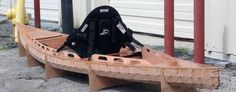 F1430 Fishing kayak   Bedard Yacht Design
