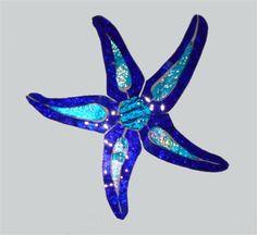 Glass Mosaic Starfish
