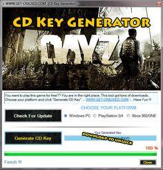 DayZ Free CD Key Generator-Keygen