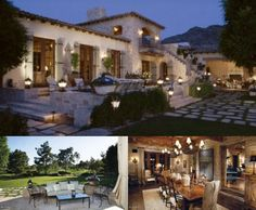 love the spanish style patio, rustic dining room & clean outdoor area!