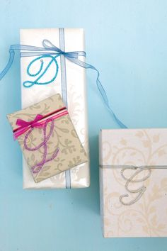 DIY:: Delicate wire work Monogram Wrapping