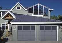 Raynor Garage Doors, Modern Farmhouse Exterior, Rustic Style, Outdoor Decor, Home Decor, Decoration Home, Room Decor, Contemporary Farmhouse Exterior, Home Interior Design