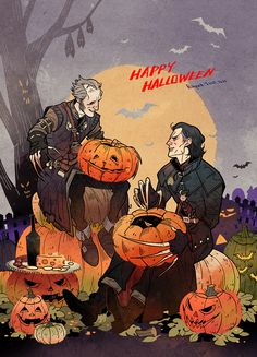 Witcher Vampires on Halloween. by freestarisis on DeviantArt