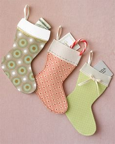 Christmas Paper Stockings