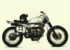 Bmw boxer scrambler motorcycle