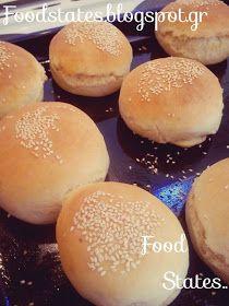 Ψωμάκια αφράτα - Food States Hamburger, Bread, Blog, Barbie, Kids, Crafts, Young Children, Boys, Manualidades