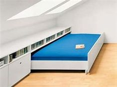Image result for diy bed that rolls into attic space