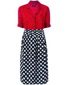 Diesel Damen - 'D-Blaze' Kleid mit Herz-Print - women
