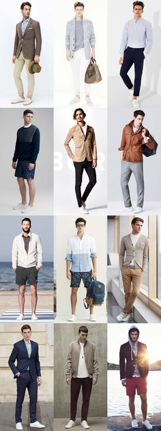 5 Key Menswear Pieces For Spring/Summer 2015 : 3. White Trainers Lookbook Inspiration