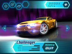Image result for car racing game ui