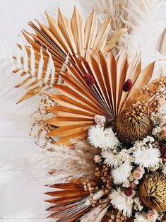 100 Boho Wedding Decor Finds You'll Love! | The Perfect Palette Dried Flower Bouquet, Dried Flowers, Fall Flowers, Pretty Flowers, Floral Wedding, Wedding Flowers, Dried Flower Arrangements, Boho Wedding Decorations, Terracota
