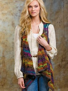 Crochet - Stormy Weather Vest - #EC01274