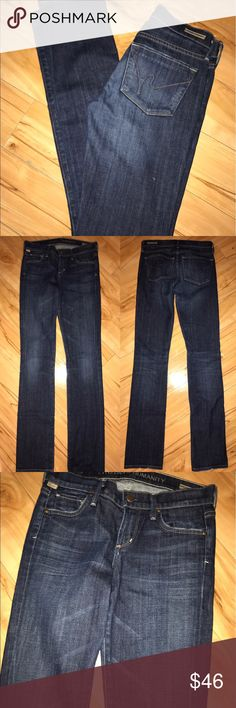 """Citizens.Of Humanity Dark Skinny  Low Rise Jeans COH low rise.  ( size 26- will measure inseam asap ) great condition , Skinny fit , dark blue denim - 33"""" inseam - gently worn Citizens of Humanity Jeans Skinny"""