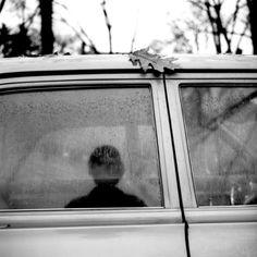 Vivian Maier :: reflection in car window, 1960′s