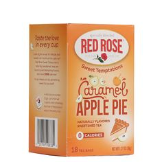 Sweet Temptations Caramel Apple Pie (18ct)   Red Rose Tea