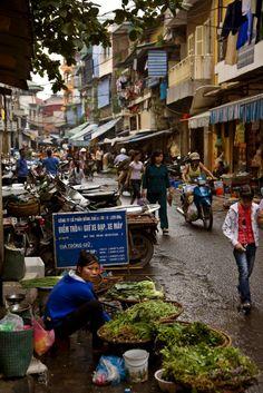 Street Life in Hanoi, Vietnam