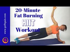 20 Minute Fat Burning HIIT Workout - YouTube