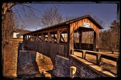 Knapp's/Luther's Mill Covered Bridge - Bradford County, PA