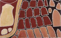 Queenie McKenzie / Kimiyarriny (The White Mountain and Duncan Highway) 1993 70 x Aboriginal Painting, Dot Painting, Indigenous Art, Abstract Canvas, Art Market, Animal Print Rug, Sculptures, Art Gallery, Dots