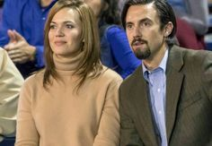 Mandy Moore and Milo Ventimiglia in This Is Us (2016)