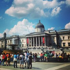Trafalgar Square. #london #travel #holidays