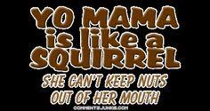 33 ideas funny comebacks and insults jokes yo momma Your Mama Jokes, Mum Jokes, Yo Momma Jokes, Comebacks And Insults, Funny Comebacks, Funny Tumblr Comments, Tumblr Funny, Funny Test Answers, Funny Couples