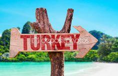 Türkiye'de ahşap işareti - Stok İmaj #73439759