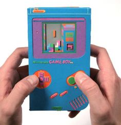 gameboy color papercraft