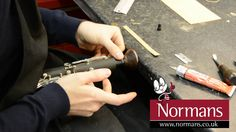 Do you need to change your clarinet cork? Not really sure how? Take a look at this helpful 'how to' from Jez our repairs technician at normans