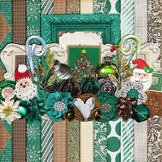 Scrapbooking TammyTags -- TT - Designer - Harper Finch, TT - Item - Kit or Collection, TT - Style - Sampler or Mini Kit, TT - Theme - Christmas