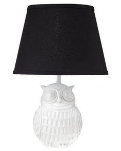 love this owl lamp!