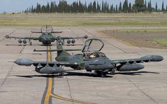 A-37 Dragonfly Fighters