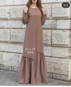 Style Hijab Casual Kondangan 32 Ideas Source by gizmafei dress Source by MadisynDresses Dresses hijab Abaya Fashion, Muslim Fashion, Modest Fashion, Fashion Dresses, Girl Fashion, Hijab Mode, Mode Abaya, Ideas Hijab, Hijab Style Dress