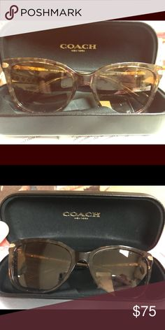 e4ed2b9792b3a ... italy coach hc7005b sunglasses reagan sunglasses 901813 gold spotted  tortoise brown gradient coach sunglasses pinterest coach