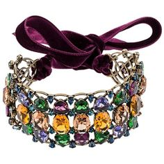Lanvin crystal choker (53.456.360 VND) ❤ liked on Polyvore featuring jewelry, necklaces, purple, multicolor crystal necklace, multicolor necklace, choker necklace, multi color necklace and purple crystal necklace
