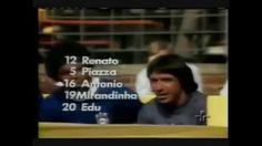 CENAS DE RENATO VALLE   COPA DE 1974   BRASIL 2 x 1 ARGENTINA