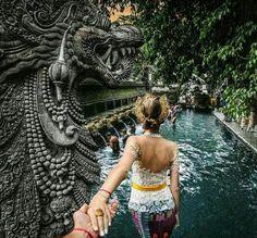 Take me to Bali... Pura Tirta Empul #indonesia #island #temple…