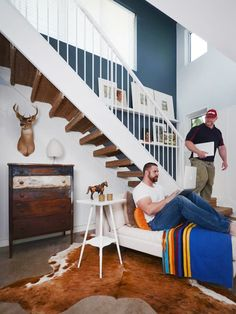 Chris & Roger's DIY + Modern Farmhouse — Pride at Home: House Tour Greatest Hits | Apartment Therapy