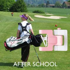 Use Selfiegolf to improve your golf game! After School, Golf Bags, Baby Strollers, Improve Yourself, Children, Sports, Game, Colors, Baby Prams