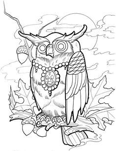 Creative Haven Modern Tattoo Designs Coloring Book Dover