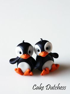 Cute Penguins (with video tutorial) - Cake by Etty